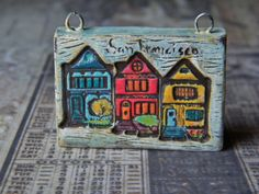NEW Wish You Were Here Series San Francisco by SweetBirchDesigns