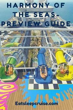 Take a look inside Harmony of the Seas. The new Oasis-class ship will be the biggest and most innovative ship in Royal Caribbean's fleet! Cruise Travel, Cruise Vacation, Vacation Trips, Royal Caribbean International, Royal Caribbean Cruise, Cruise Checklist, Serenade Of The Seas, Harmony Of The Seas, Cruise Reviews