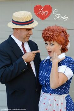 lucy and ricky handmade halloween costumeshalloween costume ideasi love - I Love Lucy Halloween Costumes