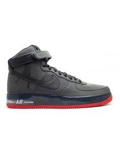 sale retailer 62d9b 977da Air Force 1 High Supreme Sheed Black, Black-Varsity Red 335844-001