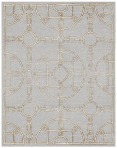 Hermes-inspired rug. Available at Vivid Home.