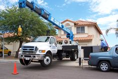 We rely on reputable crane companies Crane, Competition, Monster Trucks
