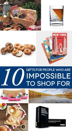 32914178afec Gifts for those people in your life who are impossible to shop for. Holiday  Gift