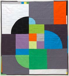 Delaunay(back) quilt from JaffWorks