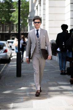 """Via flypublic: """"Darren photographed in Bloomsbury, London"""""""