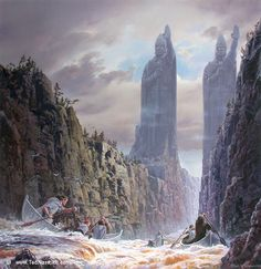 Ted Nasmith- The Argonath