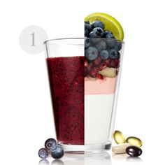 ΣΥΝΤΑΓΕΣ - Gianna - George Oriflame         Υλικά: 1 ρόδι 100 γραμμάρια βατόμουρα (ή όποιο άλλο μούρο σας αρέσει) 1 κουταλάκι του γλυκού τριμμένη πιπερόριζα  Χυμός από ένα μοσχολέμονο 200 ml γάλα χαμηλών λιπαρών της επιλογής σας  +  1 δόση Natural Balance Shake Φράουλα + 1 φακελάκι WellnessPack Oriflame Cosmetics, Pint Glass, Smoothie, Tableware, Recipes, Products, Strawberry Fruit, Lean Body, Rome
