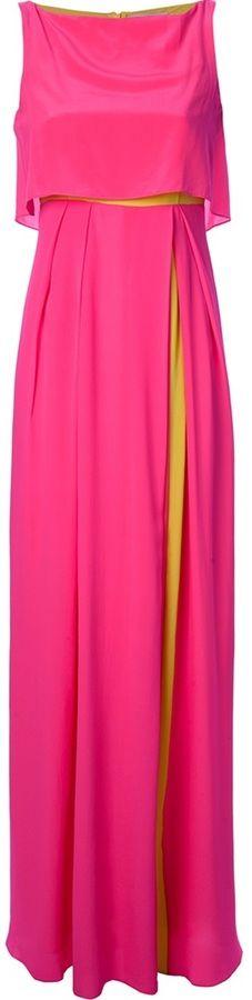 Hot Pink Evening Dress by Roksanda Ilincic. Buy for $1,662 from farfetch.com
