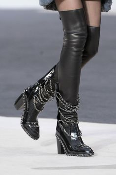 Chanel Over-the-knee Boot Fall 2013