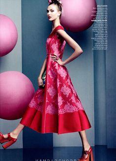 journaldelamode:    Karlie Kloss in Marc Jacobs by Craig McDean for Vogue US November 2012