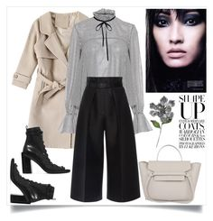 """""""Untitled #582"""" by metka-belina ❤ liked on Polyvore featuring Ann Demeulemeester, Saloni and Martin Grant"""