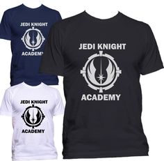 NEW Jedi Knight Academy Logo Star Wars T-shirt #GildanorOther #GraphicTee