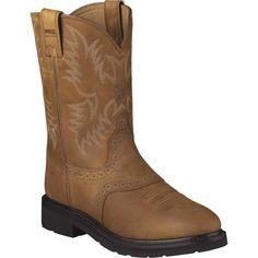 Ariat Men's Sierra Saddle Work Boots, Size: 15.0MEDIUM, Brown