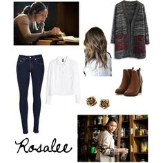 Grimm - Rosalee Calvert by taylor-morrisloveday on Polyvore featuring Chicwish, H&M, rag & bone and Tiffany & Co.
