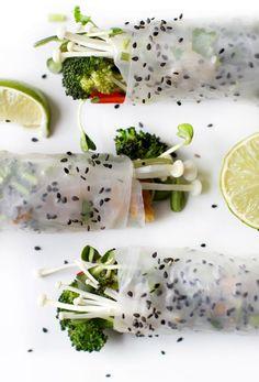 Recipe: Spring rolls with kimchi
