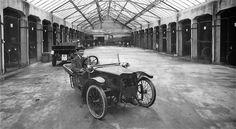 Fra Bergen Ca.1920 - Garagekompaniet A/S. Foto: Atelier KK.