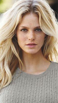 Erin Heatherton, Portraits, Portrait Art, About Hair, Freckles, Beauty Secrets, Hair Loss, Beauty Women, Blonde Hair