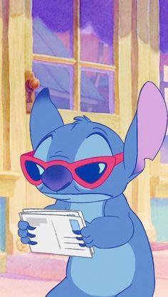 Wall paper cartoon disney characters lilo stitch Ideas for 2019 Disney Phone Wallpaper, Cartoon Wallpaper Iphone, Cute Cartoon Wallpapers, Lelo And Stitch, Lilo Et Stitch, Disney Kunst, Disney Art, Disney Drawings, Cute Drawings