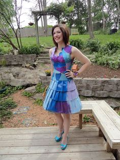 Maura Pozek always had an eye for fashion, and she showed off her latest creation at her senior prom.   The Missouri high school student created a