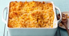 Baked Mac and Cheese, Alton Brown's famous recipe