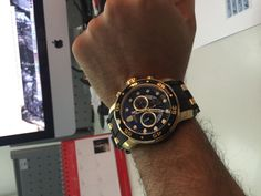 On sale: Invicta Men's 6981 Pro Diver Collection Chronograph Black Dial Black Polyurethane Watch