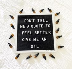 Get Started with doTerra Essential Oils Don't tell me a quote to feel better. Give me an oil. What Are Essential Oils, Natural Essential Oils, Oil Quote, Perfume Quotes, Lip Scrub Homemade, Doterra Essential Oils, Perfume Oils, Fragrance Oil, Give It To Me