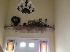 Repurposed gingerbread trim by Glenna.