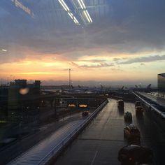 Airport JFK #jfkairport #love #morning #sunrise #dawn...