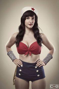 Rosalie Cosplay as Wonder woman by moshunman