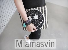 Sequined Smiling Face Clutch Bag -- $ 40.90 ($ 2.00 discount)