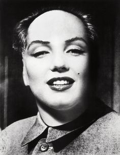 MARILYN-MAO BY PHILIPPE HALSMAN Philippe Halsman created this blending of the portraits of Marilyn Monroe and Chairman Mao, as requested by Salvador Dalí. Dalí used it for a modern surreal serigraph...