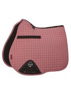 LeMieux Prosport Suede GP Square - Blush Pink