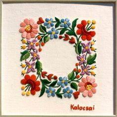 Handcrafting a satin stitch flower embroidery may well be a lost art in the near future. However, this is a skill that anyone can practice and learn and make beautiful embroidery handpieces for all occasions. Hungarian Embroidery, Brazilian Embroidery, Learn Embroidery, Crewel Embroidery, Hand Embroidery Patterns, Vintage Embroidery, Embroidery Kits, Embroidery Designs, Flower Embroidery