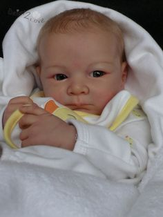 Adorable reborn baby boy