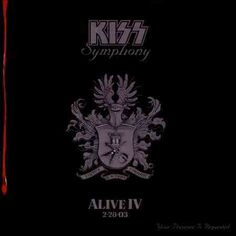 Shop Kiss Symphony: Alive IV [CD] at Best Buy. Find low everyday prices and buy online for delivery or in-store pick-up. Kiss Rock Bands, Kiss Band, Kiss Album Covers, Kiss Online, Peter Criss, Somewhere In Time, Paul Stanley, Ace Frehley, Gene Simmons