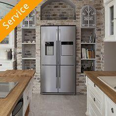 Refrigerator Replacement - Ice and Water in Door