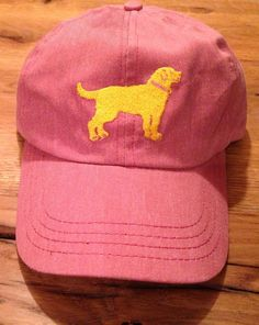 Yellow Dog Nantucket  - Yellow Dog Nantucket Cap Nantucket Red, $16.99 (http://www.yellowdognantucket.com/yellow-dog-nantucket-cap-nantucket-red/)  Our family loves Nantucket and Golden Retrievers.