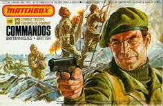 Matchbox WWII British Commandos.