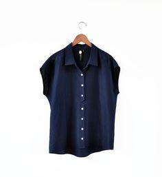 Image of Feral Childe Blue Solander Shirt