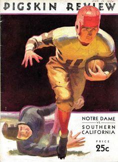 1932 notre dame irish v usc trojans ncaa football program from $20.0