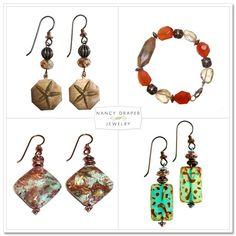 Sponsor Shoutout: Nancy Draper Jewelry on IndieSpotting Nickel Free Earrings, Drop Earrings, Jewelery, My Style, Board, Products, Jewlery, Jewels, Jewerly