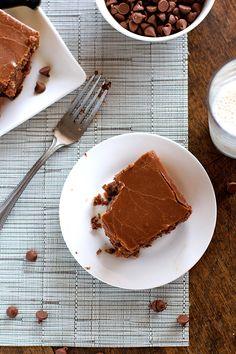 The World's Best Chocolate Oatmeal Cake - Pinch of Yum