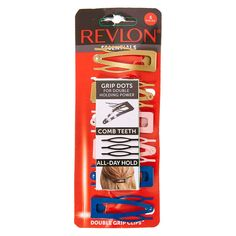 Revlon Romance Grip Dot Hair Clips