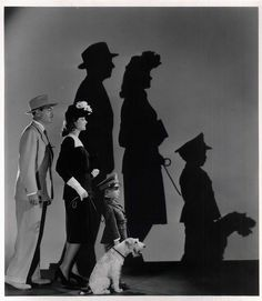 The Thin Man family....with Asta of coarse!