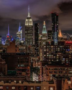 Midtown Manhattan by Louis Grimace - The Best Photos and Videos of New York City including the Statue of Liberty, Brooklyn Bridge, Central Park, Empire State Building, Chrysler Building and other popular New York places and attractions.
