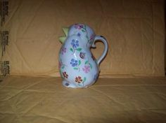 Image detail for -Blue Ridge Southern Potteries Chic Chick Pitcher Nice One Original B R ...