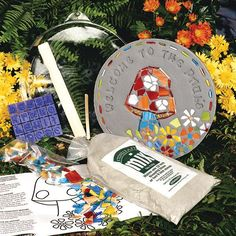 fd5fb0651271e Garden Mosaic Stepping Stone Kit - SKU 901-11282W
