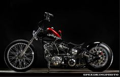 """The Panhead chopper Jeff simply calls: """"My 58"""" was featured in the July 2011 edition of the Cycle Source magazine. Description from flyingpiston.com. I searched for this on bing.com/images"""