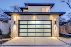 Garage doors, being the first thing that you can see on the front facade, largely contribute to the overall appearance of your residence