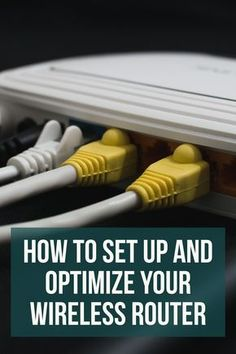 Homebrewing gadgets If you want the best possible Wi-Fi performance in your home, these simple steps for setting up your router and wireless network the right way. Computer Router, Internet Router, Computer Help, Wireless Router, Wifi Router, Computer Technology, Computer Tips, Energy Technology, Technology Gadgets